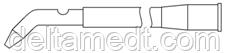 Аспиратор раневого поля с контрольным отверстием D 8mm