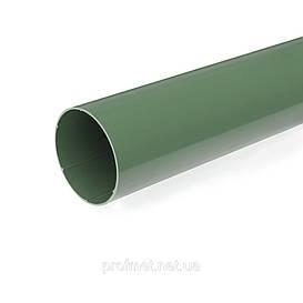 Водосточные системы пластиковые. Труба водостока Bryza 125 мм пластиковая