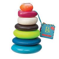 """Развивающие и обучающие игрушки «Battat» (BX1372Z) пирамидка """"Морские камешки"""""""