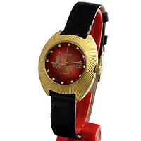 Заря олимпийские 22 камня позолоченные советские часы
