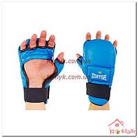 Перчатки для рукопашного боя, кунг-фу, самбо, ММА MATSA кожаные