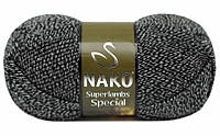 Суперлембс Нако № 3086, серый меланж