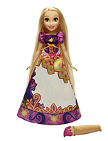 Кукла Рапунцель Принцесса Диснея меняет цвет платья Disney Princess Rapunzel's Magical Story Skirt