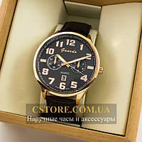 Мужские оригинальные часы Guardo gold black 04681g-0692, фото 1