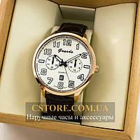 Мужские оригинальные часы Guardo gold white 04682g-0692, фото 1