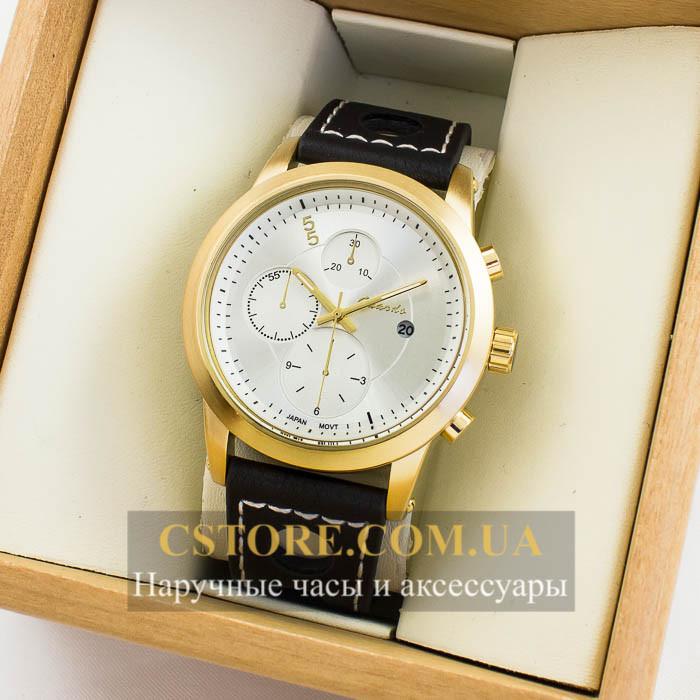 Мужские Оригинальные Часы Guardo Gold White 04690g-6651 — в ... b390bd5c5b3