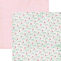 Бумага для скрапбукинга 30x30 My Mind's Eye - Cut and Paste - Double Sided Paper - Thrive CP1027