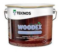 Антисептик масляный для деревесины,на водной основе,Текнос Вудекс Эко, 9 л