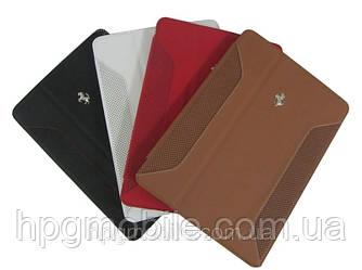 Чехол для iPad Air (iPad 5) - Ferrari F12 leather case, разные цвета