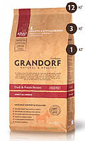 Duck & Potato Recipe Adult All Breeds c уткой для взрослых собак 26/16 (Грандорф) Grandorf (3 кг)