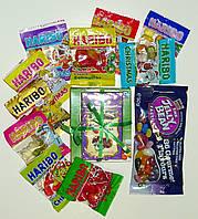 Подарочный набор Желейные бобы 3х видов+желейные конфеты Haribo, 14шт.