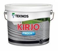 Антикоррозийная краска для крыш Teknos Kirjo Akva (Текнос Кирйо Аква), 9л,  Б3