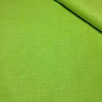 Однотонная польская бязь салатового цвета, хлопок цвета травы №406
