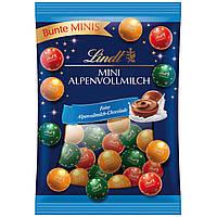 Шоколадные конфеты Lindt mini AlpenVollmilch, 100г