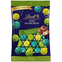 Шоколадные конфеты Lindt mini NussCreme, 100г