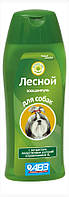 Шампунь «Лесной» с экстрактами лекарственных растений и провитамином В5 для собак 270 мл