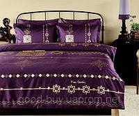 Комплект постельного белья Постельное белье Pierre Cardin Ottoman фиолетовый