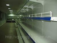 Новые стеллажи торговые с полками в магазин бытовой химии.Торговое оборудование WIKO (ВИКО)