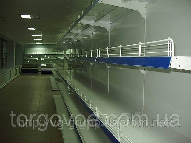 Новые стеллажи торговые с полками в магазин бытовой химии.Торговое оборудование WIKO (ВИКО), фото 1
