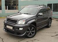 Toyota Prado 120 (2003-2006). Реснички ( накладки ) передних фар
