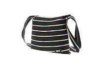 Подростковая сумка Medium, Black & Rainbow Teeth ТМ ZIPIT Черный ZBD-8