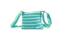 Подростковая сумка Medium, Ocean Blue & Soft Brown ТМ ZIPIT Голубой ZBD-4