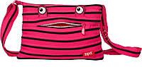 Подростковая сумка MONSTERS, Pink Begonia & Black Teeth ТМ ZIPIT Розовый ZBDM-3