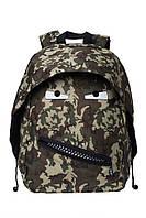Стильный рюкзак GRILLZ, CAMO GREEN для подростков ТМ ZIPIT Камуфляж зеленый ZBPL-GR-6