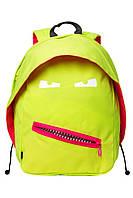 Стильный рюкзак GRILLZ, BRIGHT LIME для подростков ТМ ZIPIT Яркий лайм ZBPL-GR-3
