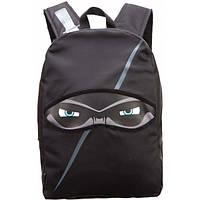 Стильный рюкзак NINJA, BLACK для подростков ТМ ZIPIT Черный ZNINJ-BK