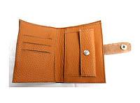 Кожаный кошелек с монетницей Daily Wallet Коричневый