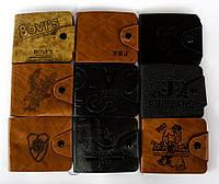 Стильный мужской кошелек Bovi's Genuine Leather Коричневый