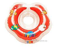 Круг для купания новорожденного на шею Бусинка 304