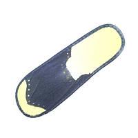 Одноразовая одежда Etto Тапочки одноразовые Etto спанбонд синие размер 39-44