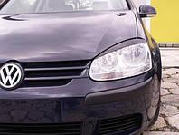 VW Golf 5. Реснички ( накладки ) передних фар