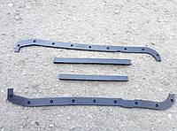 Прокладка поддона двигателя (картера) Газель,УАЗ дв.4215,4216 резина (из 4-х частей) 3302, 33021, 2705, 452
