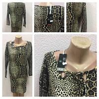 Женское платье Турция новый год леопард, фото 1