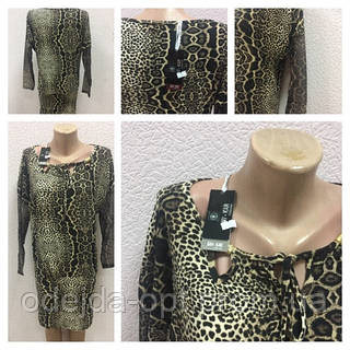 Женское платье Турция новый год леопард