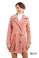 Женское модное пальто средней длины Вс-31 демисезонное, фото 1