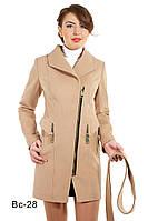 Пальто женское демисезонное средней длины Вс-28