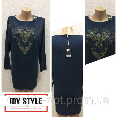 Туника-платье нарядное новый год