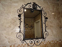 Зеркало в кованой раме, фото 1
