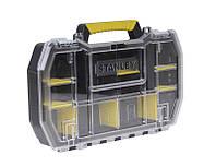 ✅ Ящик инструментальный (кассетница) 50 x 9,5 x 33см с металлическими замками. STANLEY STST1-70736, фото 1