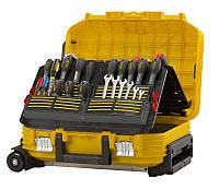 """✅ Інструментальний Ящик з колесами """""""" чемодан майстра 54 x 40 x 43,5 см STANLEY FMST1-72383"""