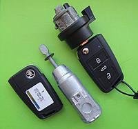 Skoda - remote key 433Mhz комплект замков и ключей ОРИГИНАЛ 5E0959753D