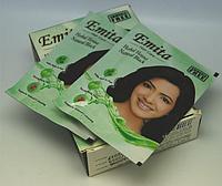 Хна для волос Natural Black (натурально черный) 6 пакетов по 10мл HV-02 YRE
