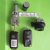 Skoda - remote key 433Mhz комплект замков и ключей, Fabia, Octavia, ОРИГИНАЛ