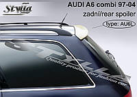 Спойлер козырек тюнинг Audi A6 С5 Avant