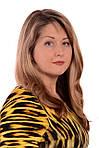Платье женское теплое с тигровым принтом ,пл 058 размер 46- 54, фото 3
