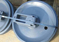 Направляющие (натяжные) колеса - ленивцы HYUNDAI R290LC-7, R305, R320, R350, R360, R420, R450, R500